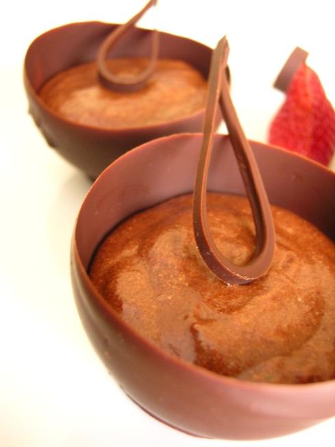 gotets de xocolata amb mousse de xocolata 2