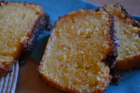 porció cake de taronja